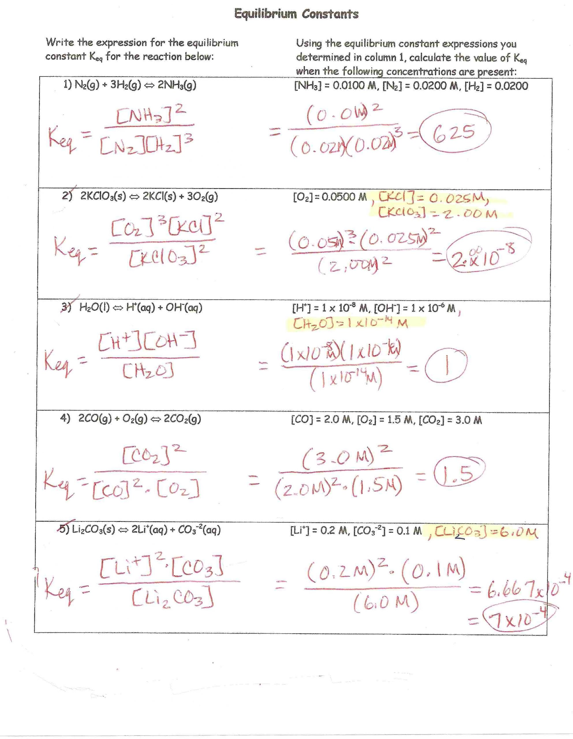 Percent Composition Worksheet Answers H Chem Keys