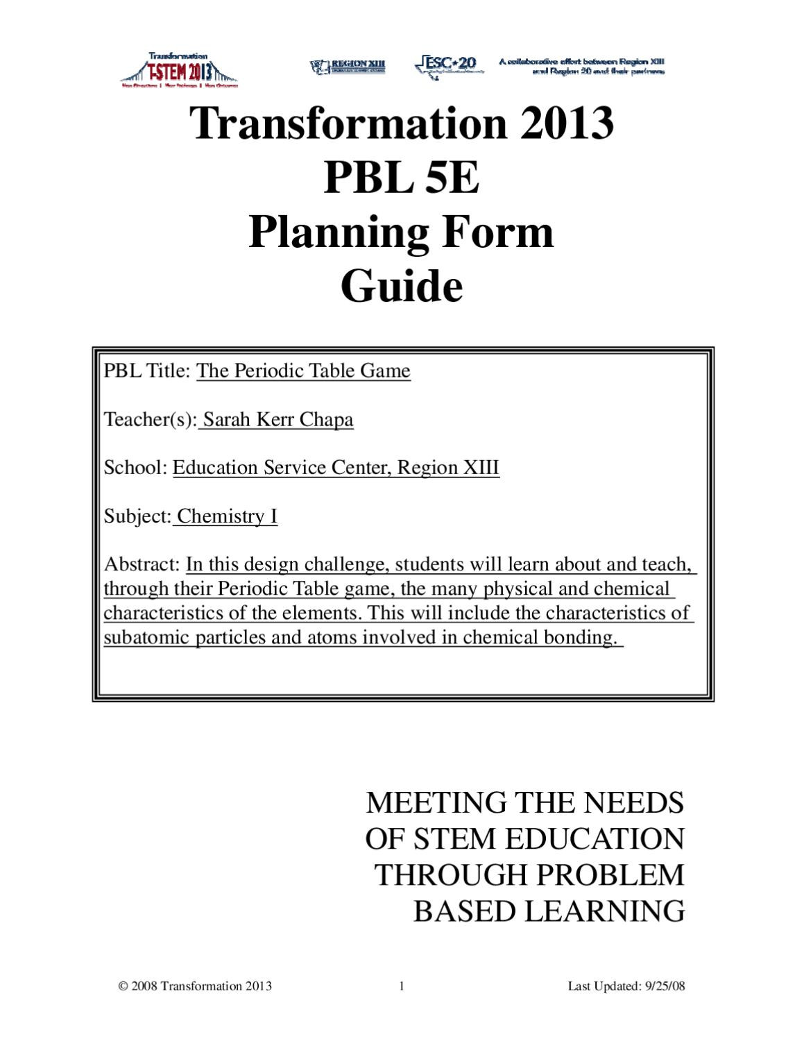 Periodic Table Puzzle Worksheet Answers atomic Structure Periodic Table by Jason Kozel issuu