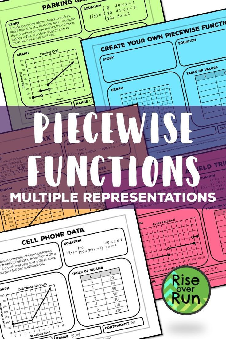 Piecewise Functions Word Problems Worksheet Piecewise Functions Practice Activity