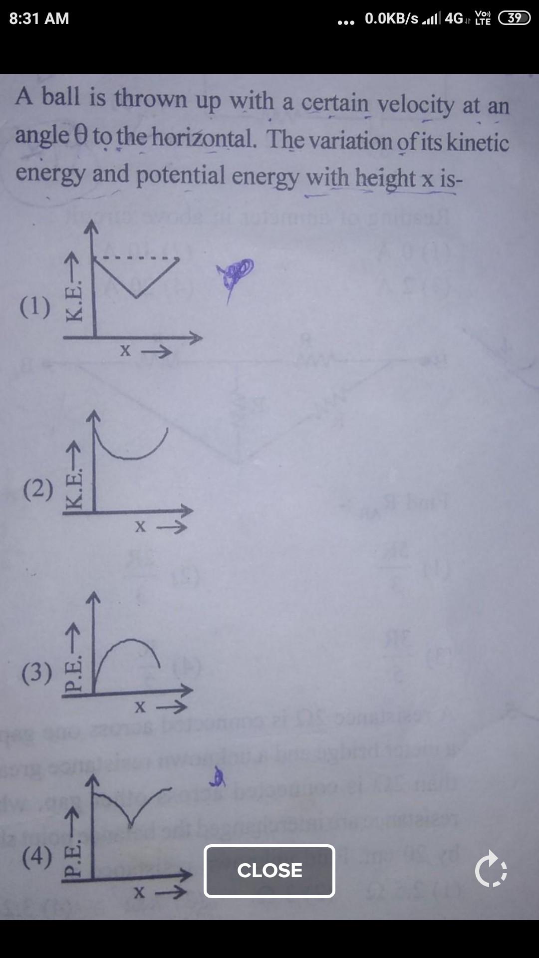 Potential Versus Kinetic Energy Worksheet Find Relation Between Potential Energy and Kinetic Energy at