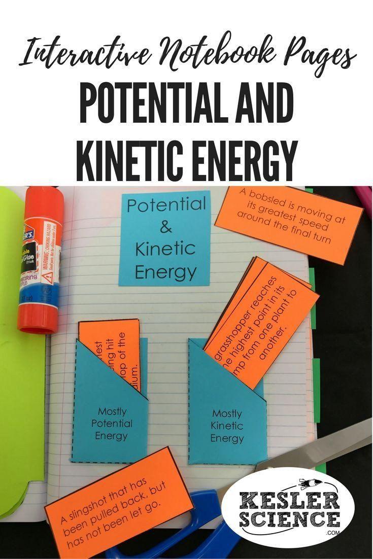 Potential Versus Kinetic Energy Worksheet Potential Versus Kinetic Energy Worksheet Energy Interactive