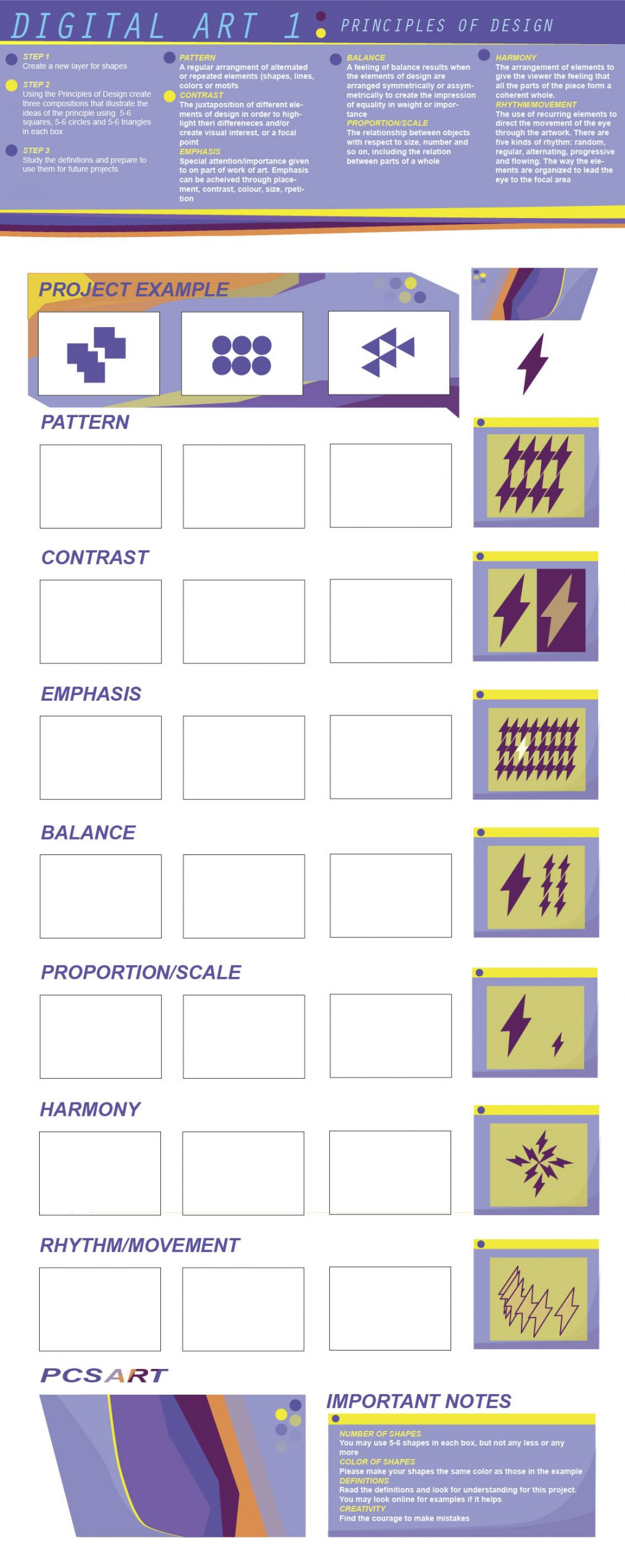 Principles Of Design Worksheet Ai Principles Of Design — Julio Labra