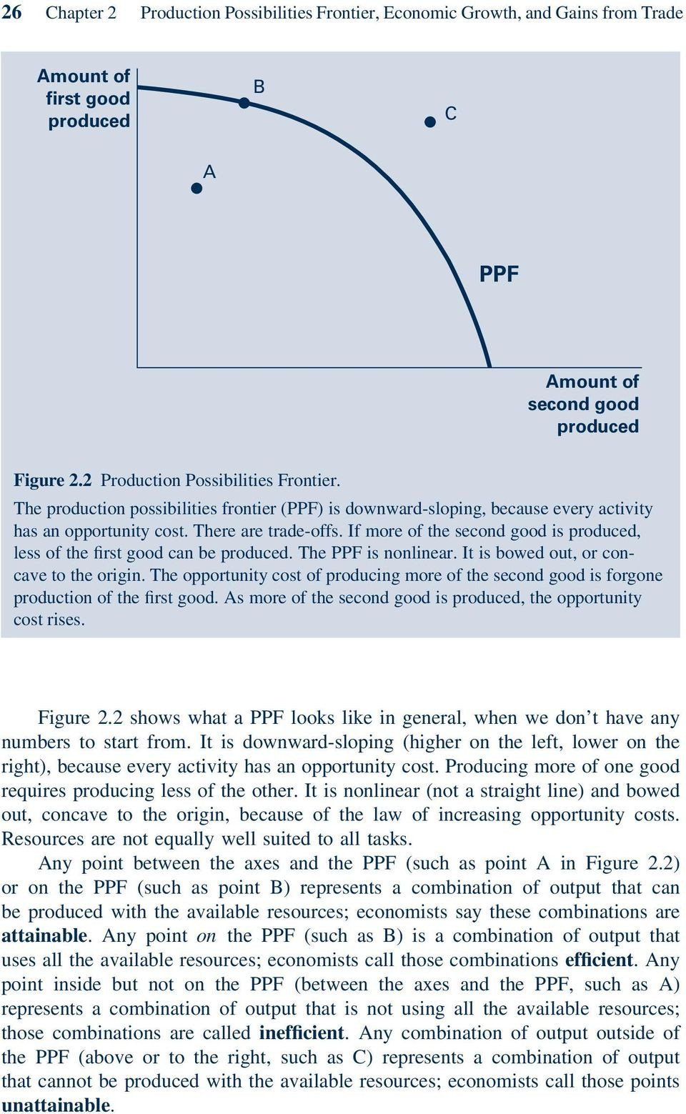 Production Possibilities Curve Worksheet Answers Production Possibilities Frontier Economic Growth and