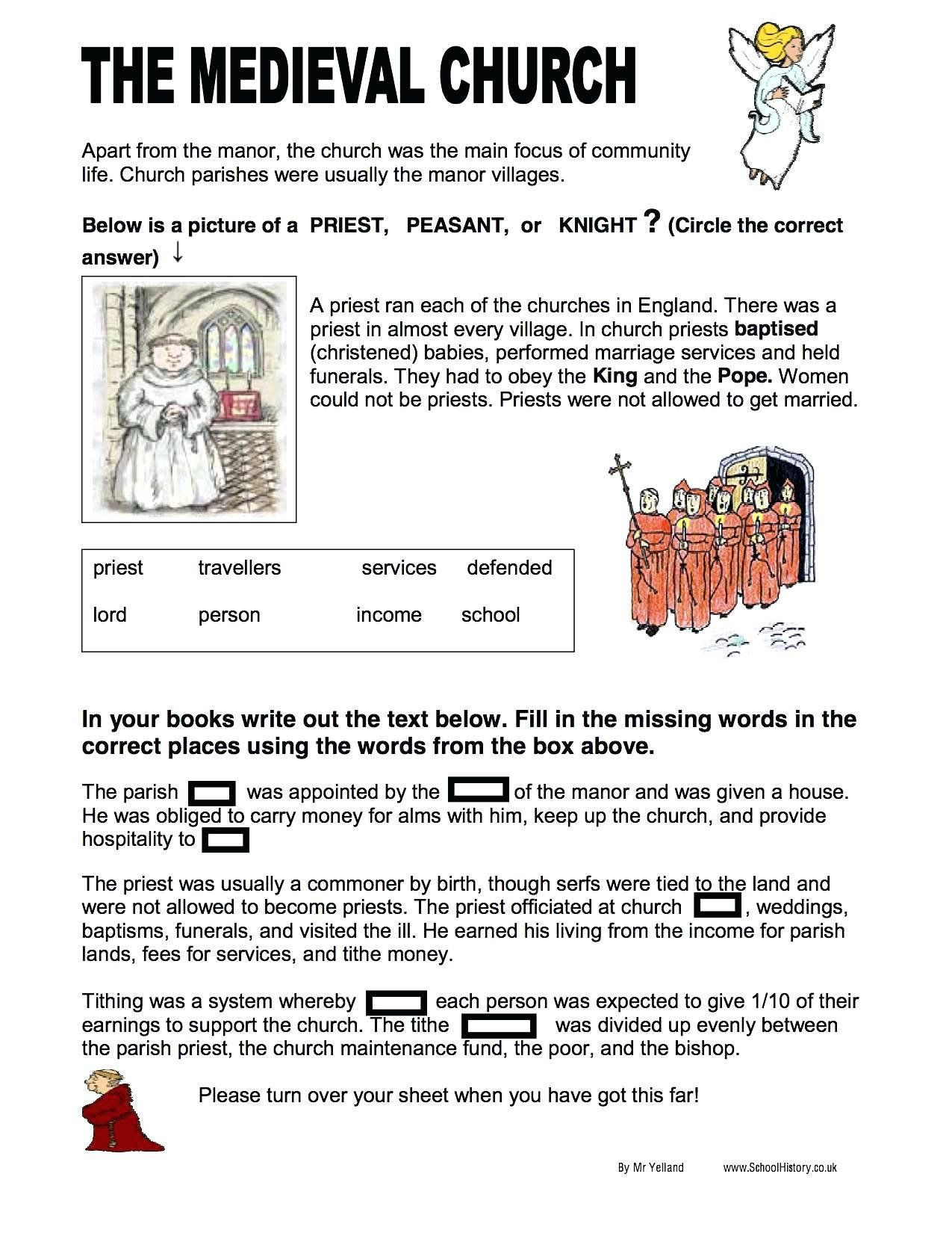 Protestant Reformation Worksheet Answers 32 Summarizing Worksheet 3rd Grade In 2020
