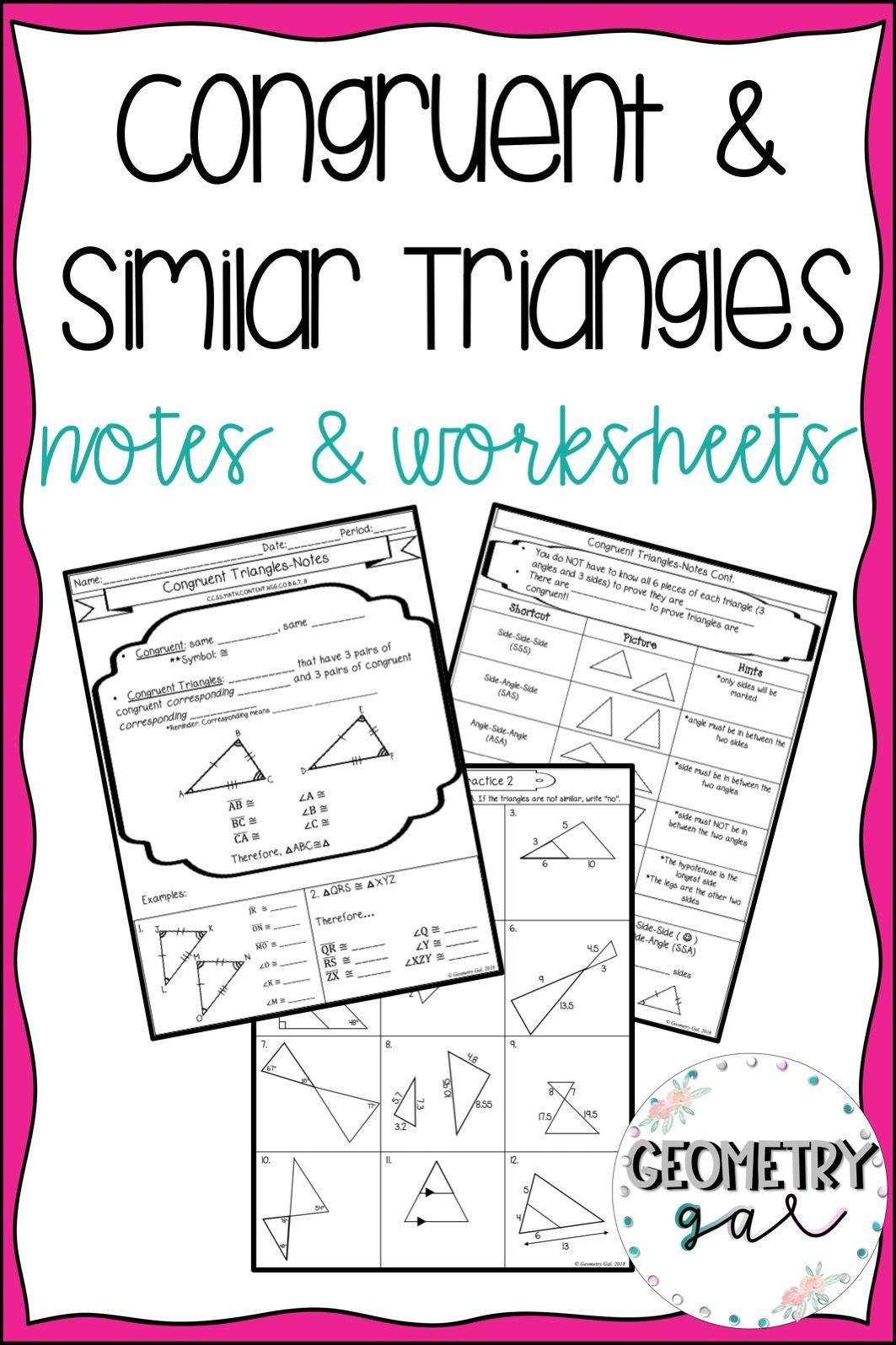 Proving Triangles Congruent Worksheet Sas Sss asa Worksheet