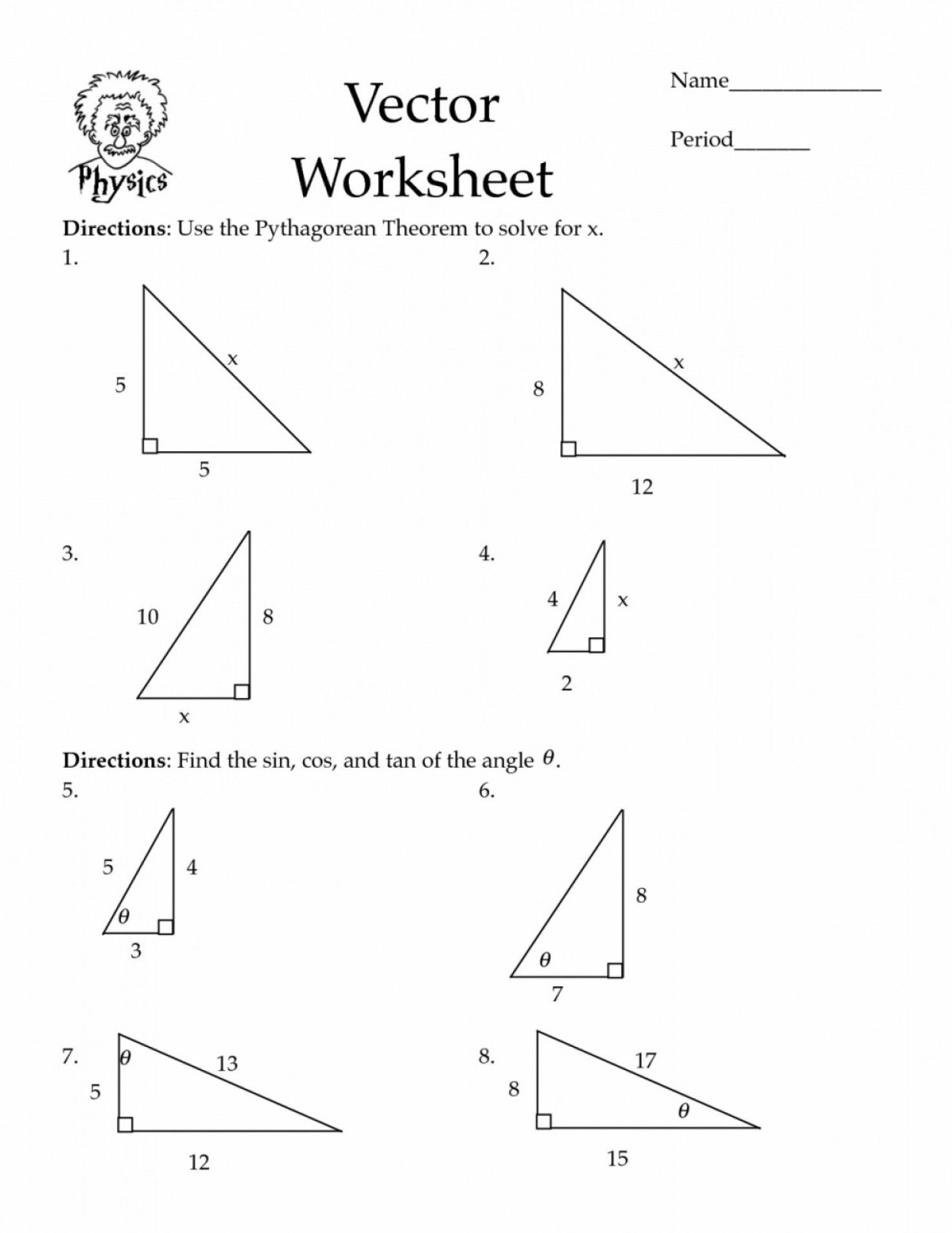 Pythagorean theorem Practice Worksheet 40 Innovative Pythagorean theorem Worksheet for You