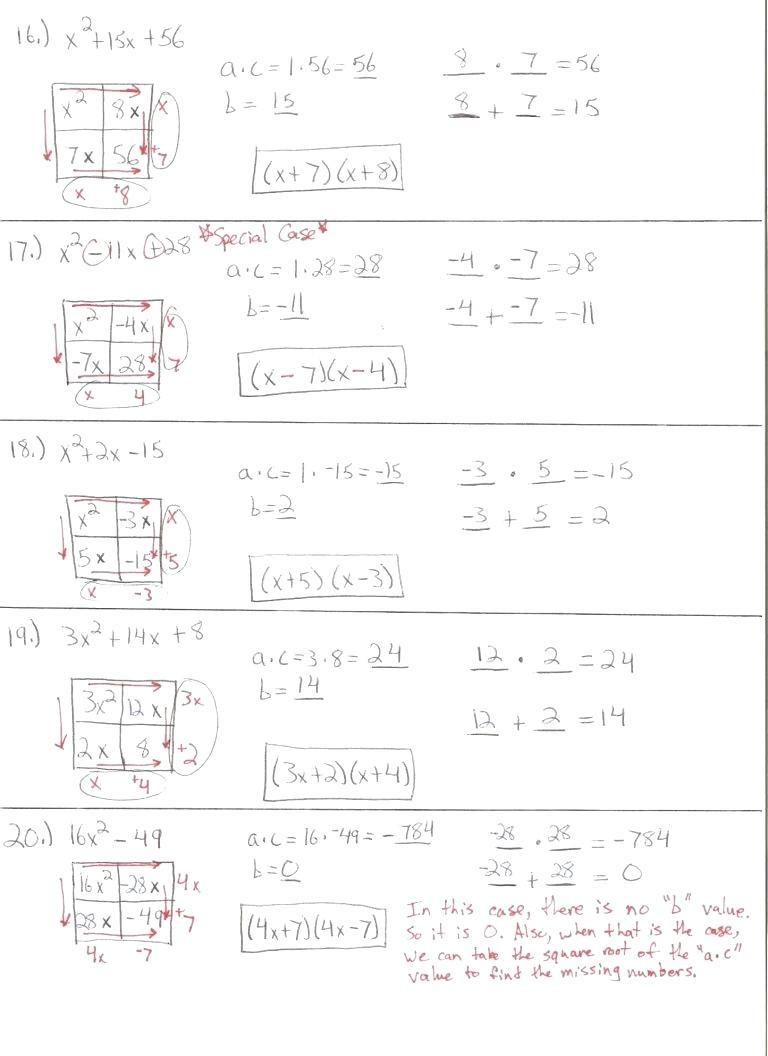 Quadratic Functions Worksheet with Answers Graphing Quadratic Functions Worksheet Answer Key