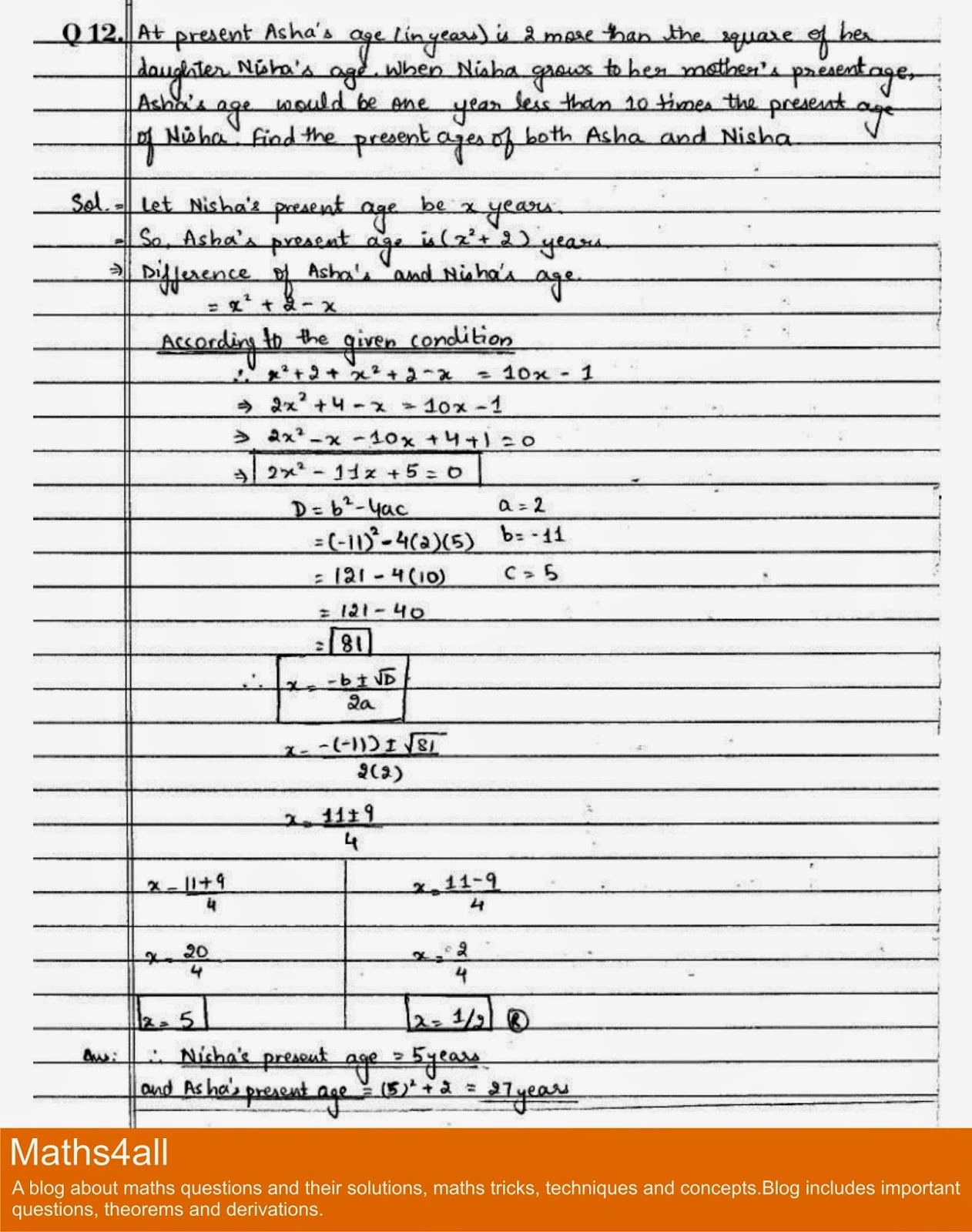 Quadratic Word Problems Worksheet Quadratic Equation Word Problems Grade 8 Tessshebaylo