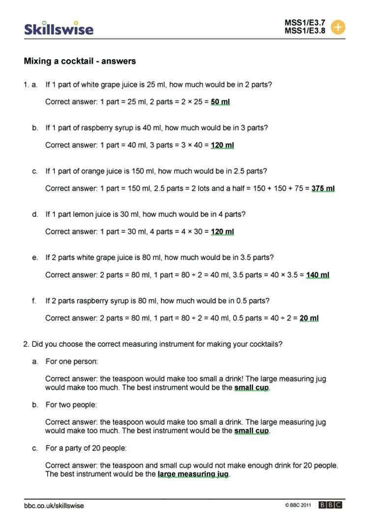 Ratio and Proportion Worksheet 41 Simple Ratio Worksheets Design