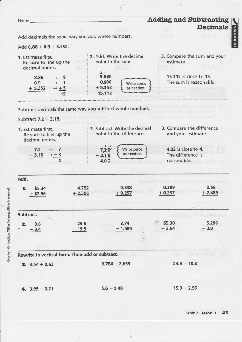 Repeating Decimals to Fractions Worksheet Yesterday S Work Units 6 7 & 8 Have A Problem Use Math