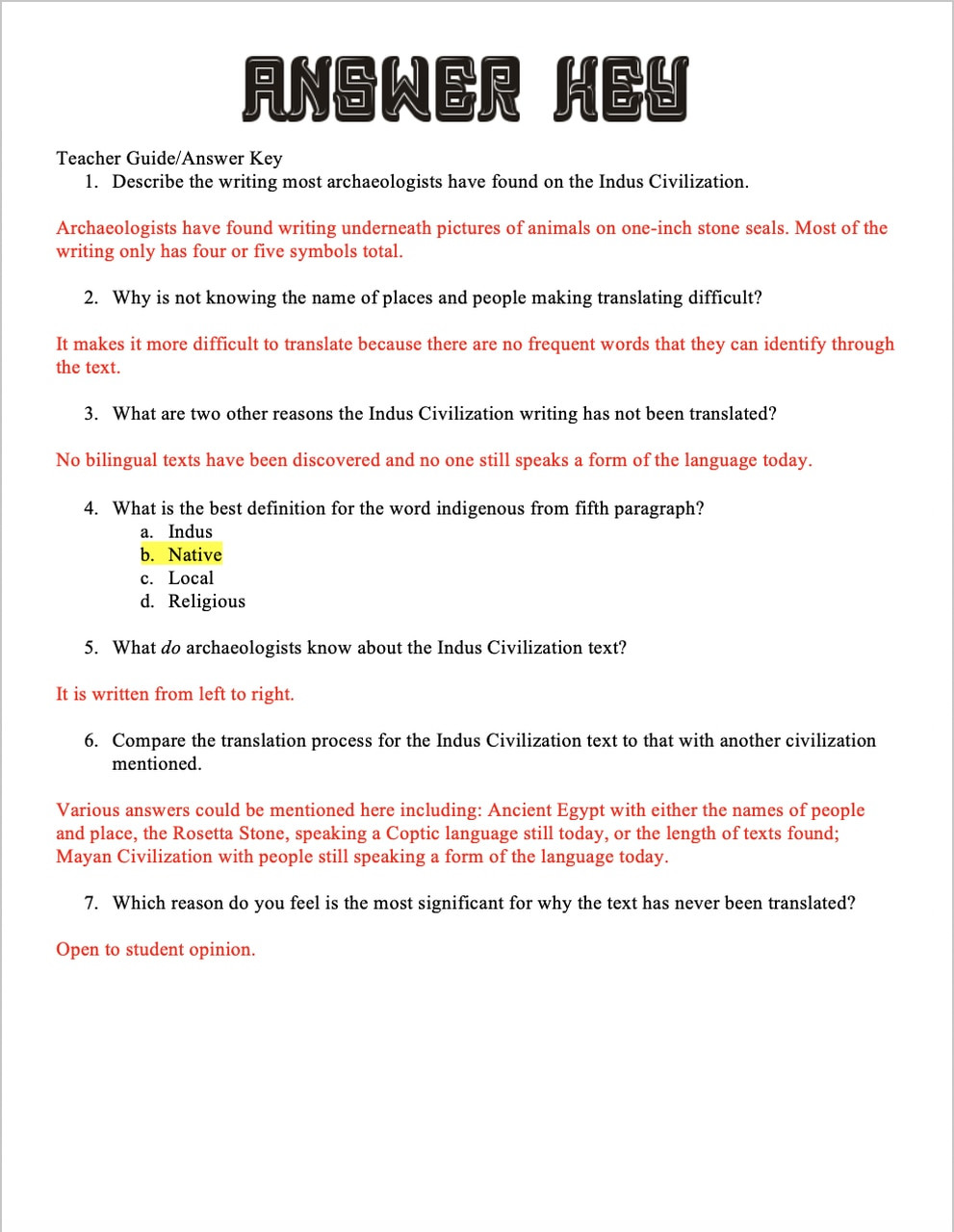 River Valley Civilizations Worksheet Answers Indus River Valley Civilization why their Writing is Not Translated