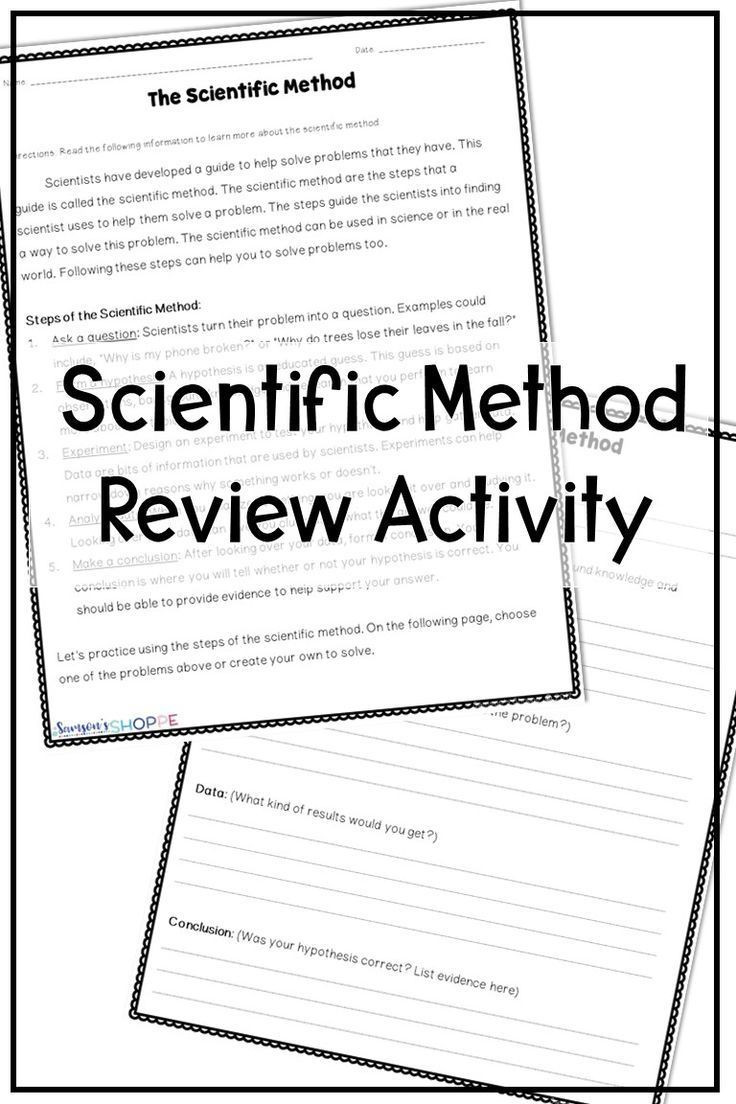 Scientific Method Steps Worksheet Scientific Method Free Real Life Application Activity Free