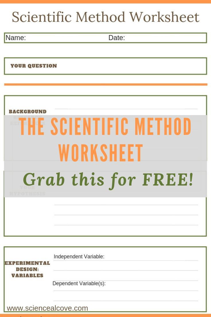 Scientific Method Worksheet High School 8 Steps Of the Scientific Method You Need to Know