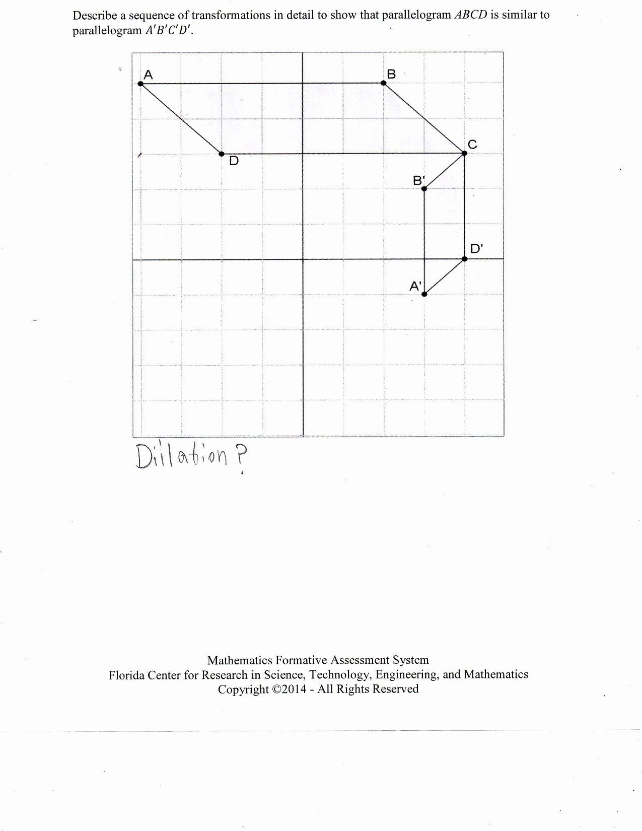 Sequence Of Transformations Worksheet 50 Sequence Transformations Worksheet In 2020