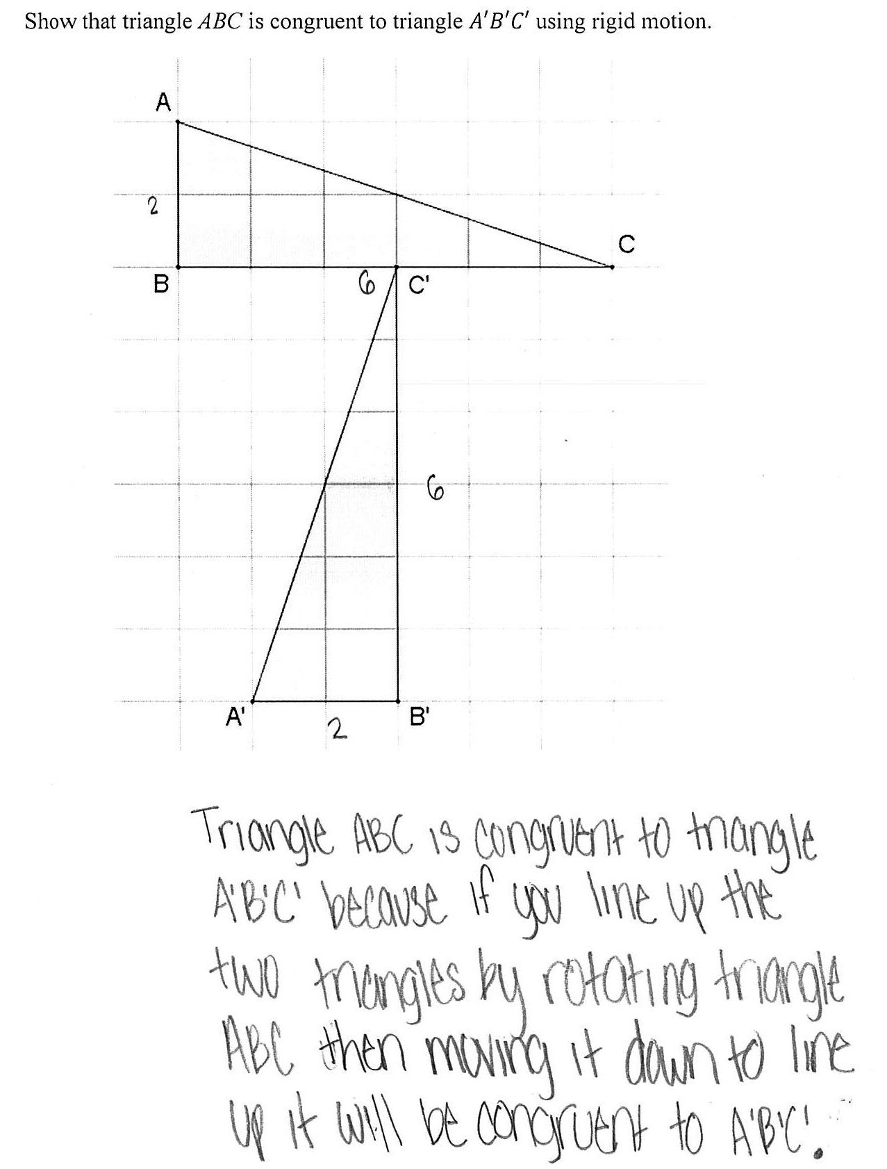Sequence Of Transformations Worksheet Describing Transformations Worksheet