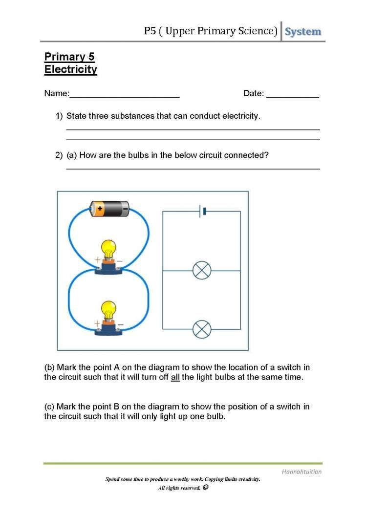 Series and Parallel Circuits Worksheet 7 Will the Circuit Work Worksheet Work