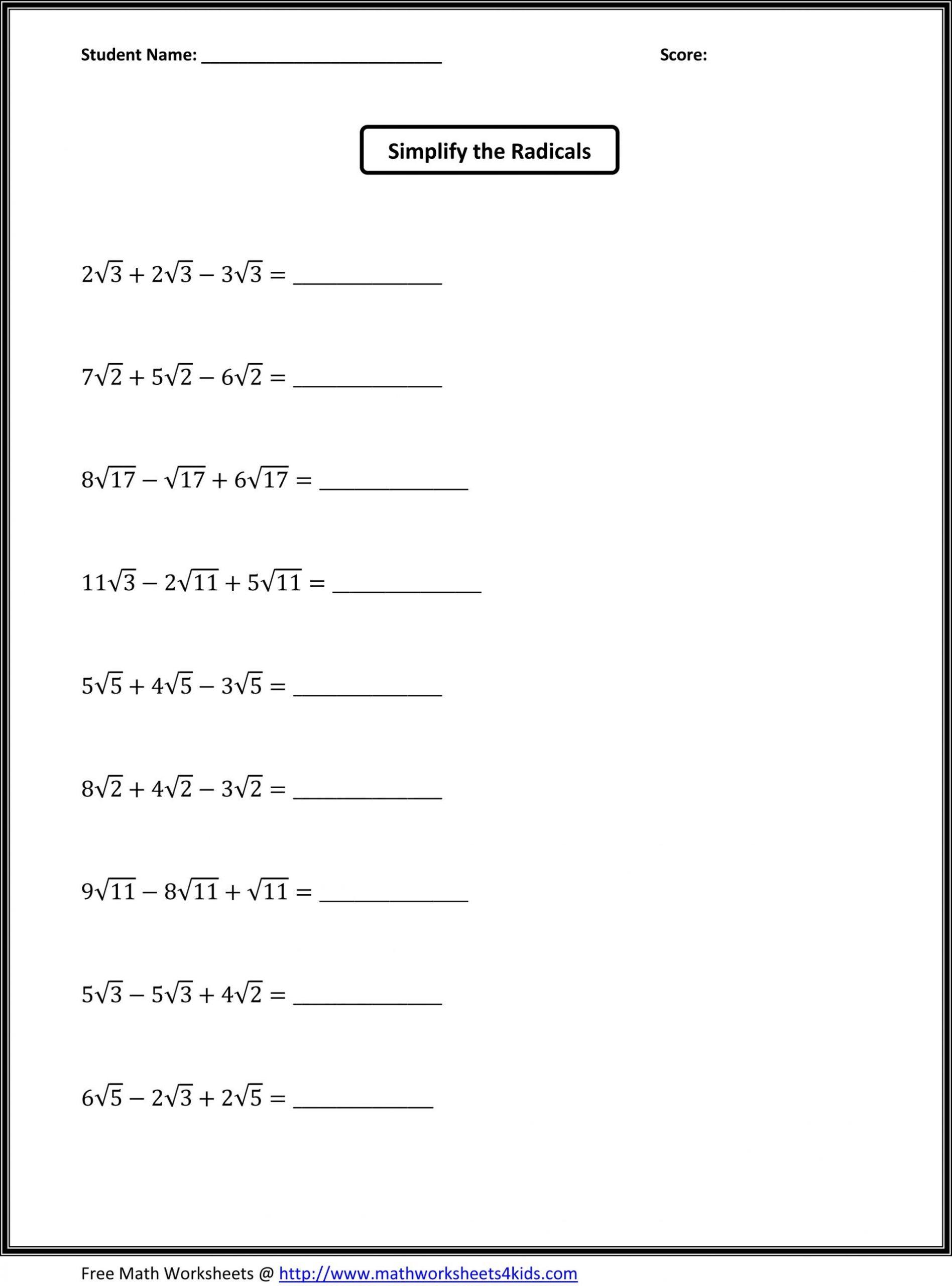 Simple Probability Worksheet Pdf 7th Grade Math Worksheets Pdf
