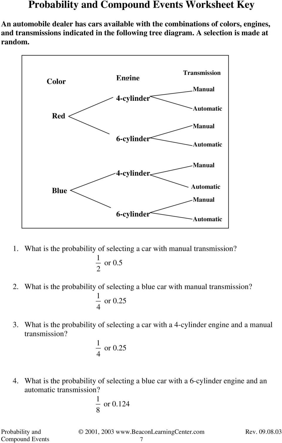 Simple Probability Worksheet Pdf Probability and Pound events Examples Pdf Free Download