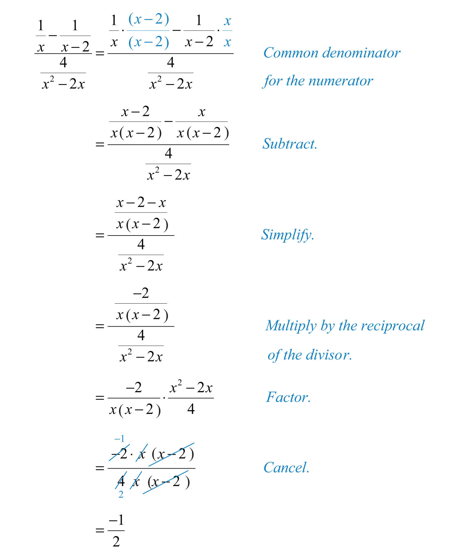 Simplifying Complex Fractions Worksheet Plex Rational Expressions