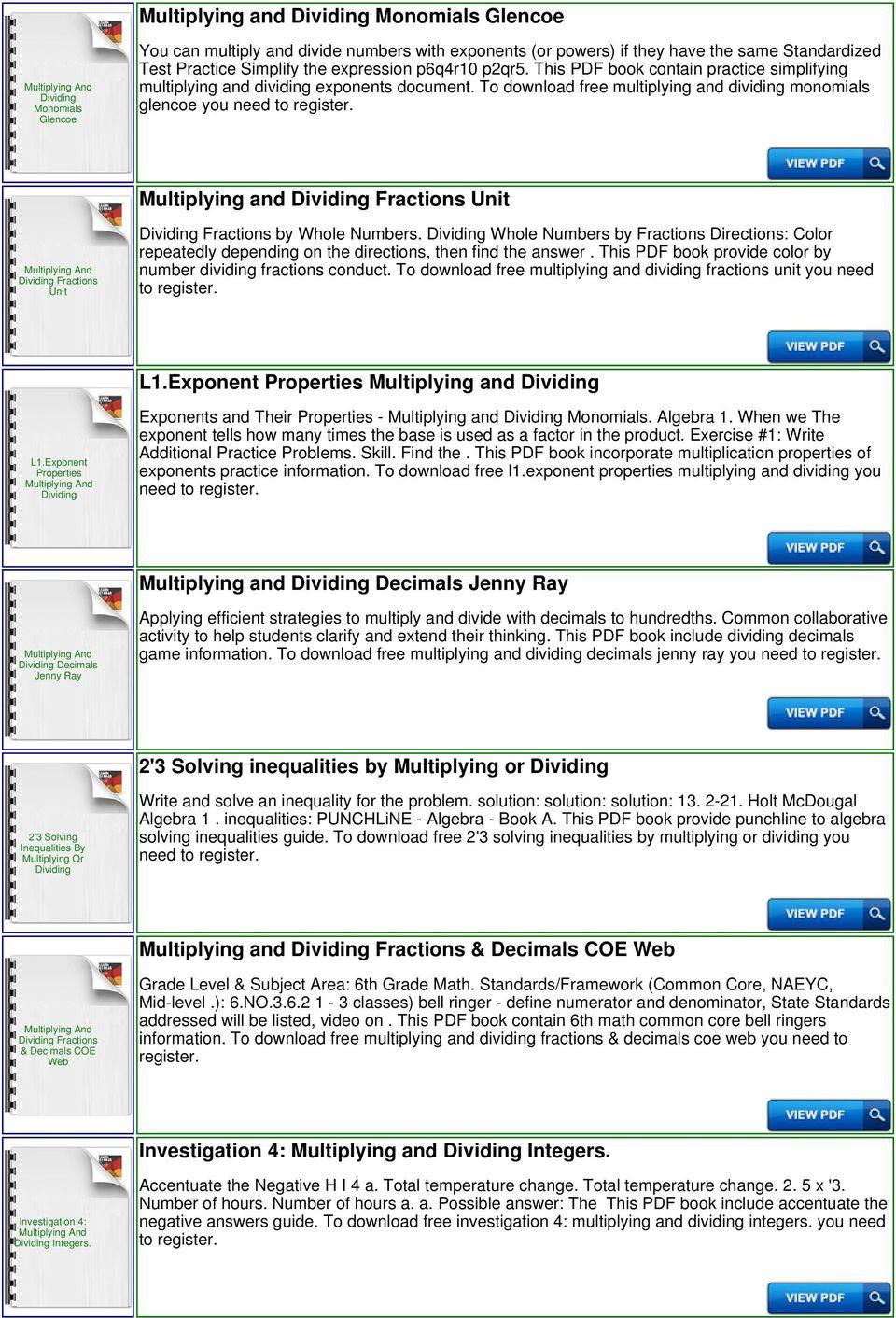 Simplifying Radicals Worksheet Pdf Practice Simplifying Multiplying and Dividing Exponents
