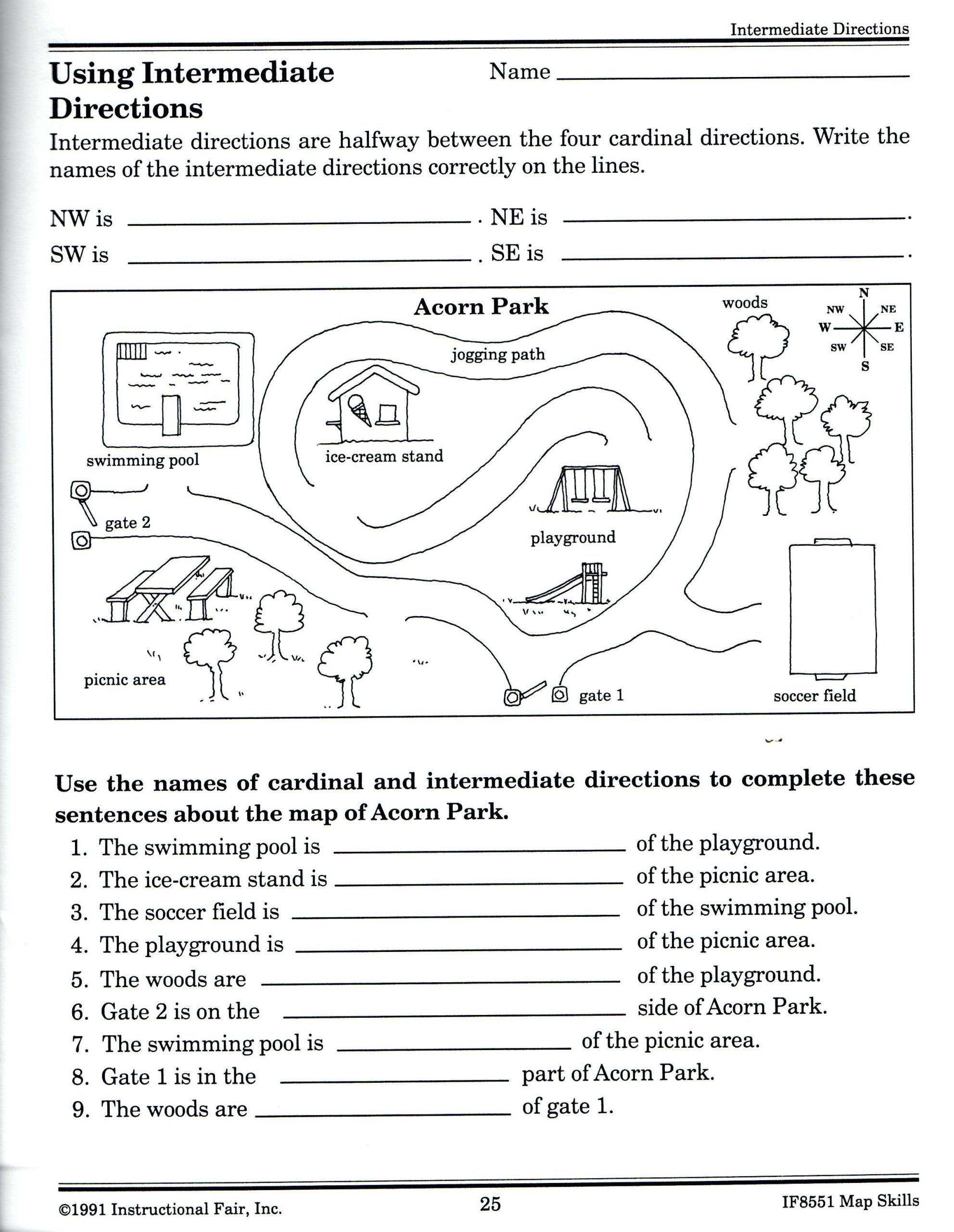 Skills Worksheet Concept Mapping Equator Map Skills Worksheets