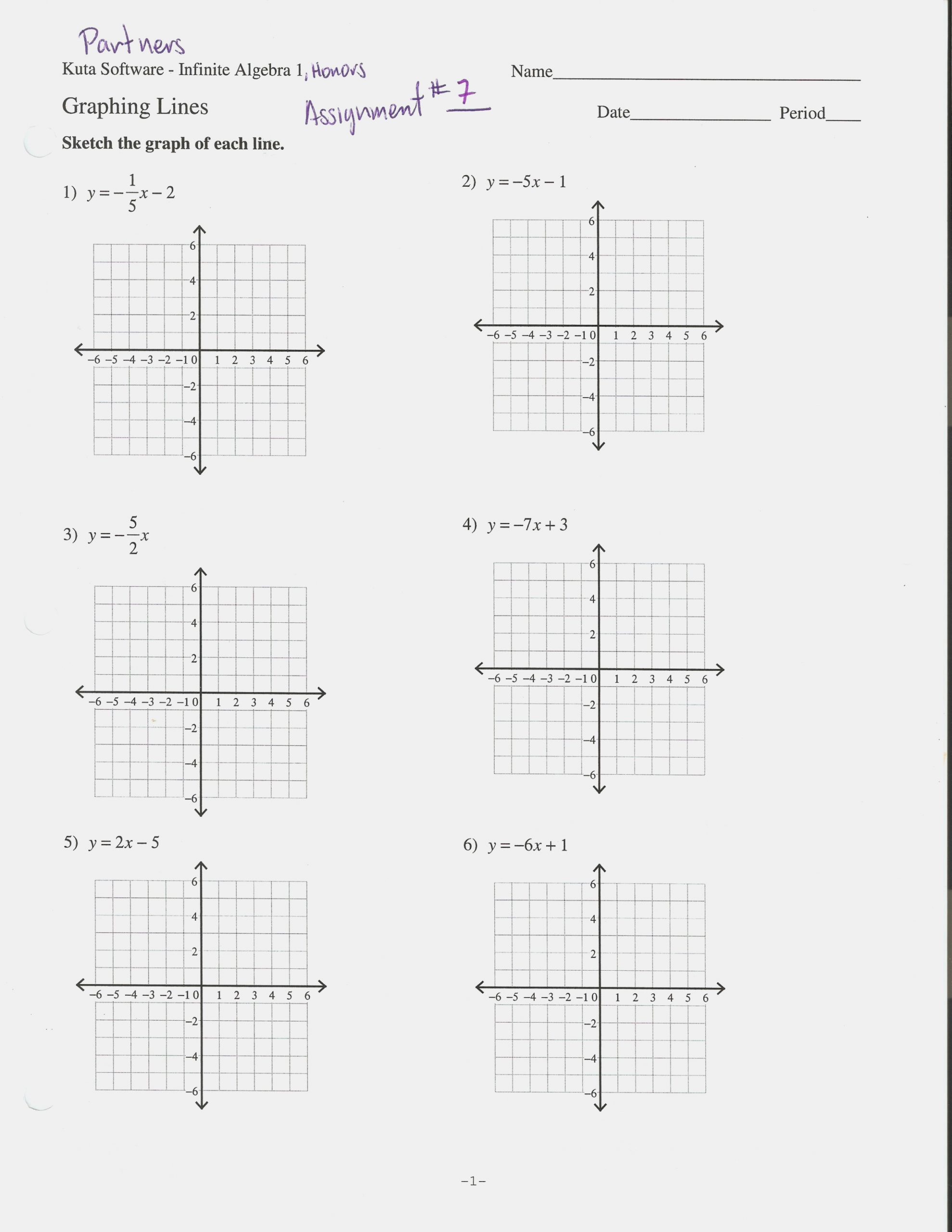 Slope Intercept form Worksheet Lovely Linear Equations Worksheet with Answers