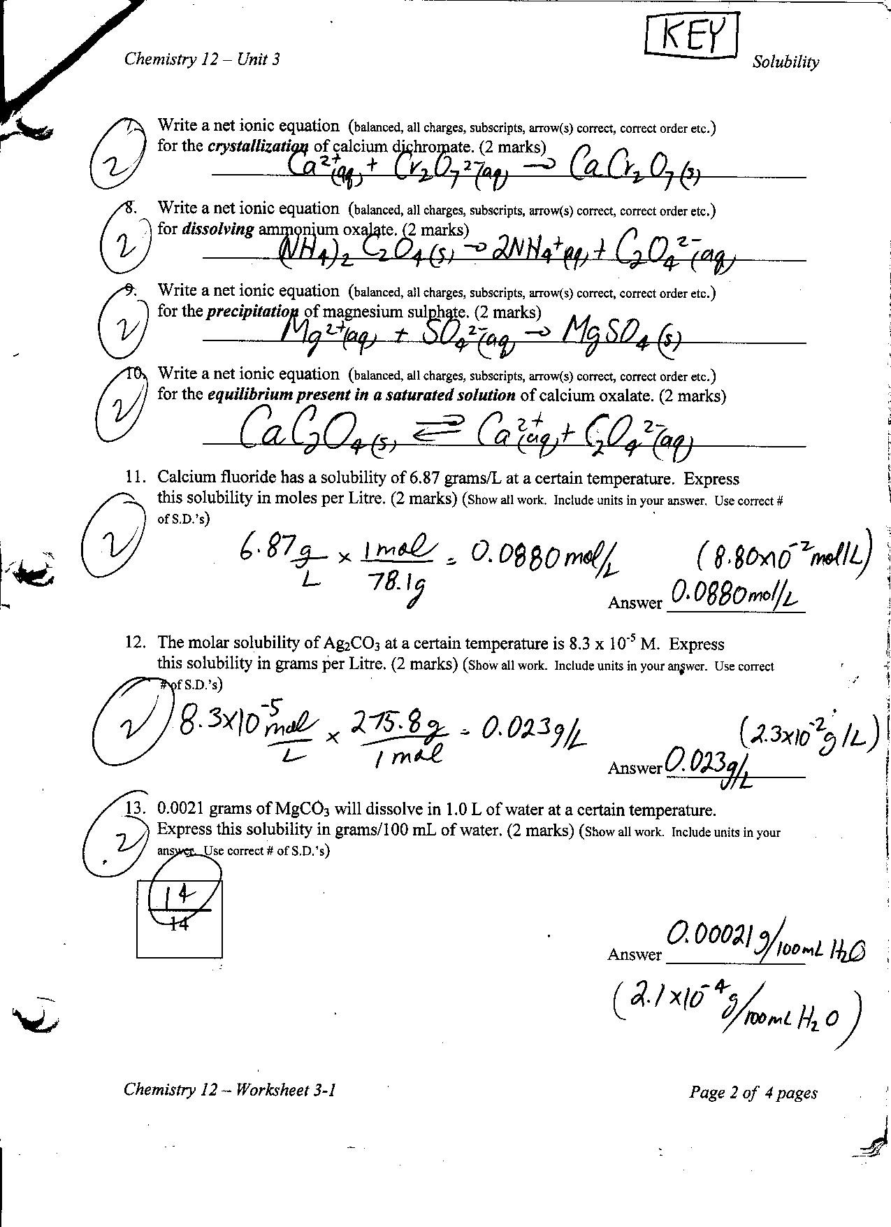 Solubility Graph Worksheet Answers solubility Graph Worksheet Answers Nidecmege