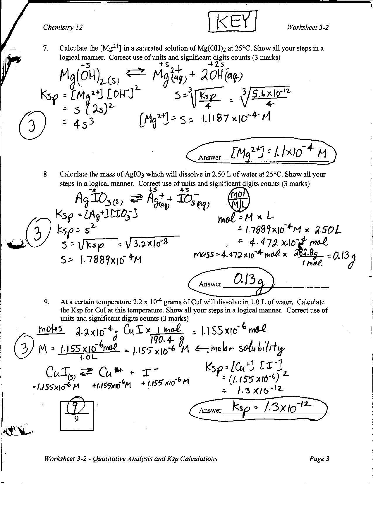 Solubility Graph Worksheet Answers Worksheet solubility Graphs Answers Worksheet List