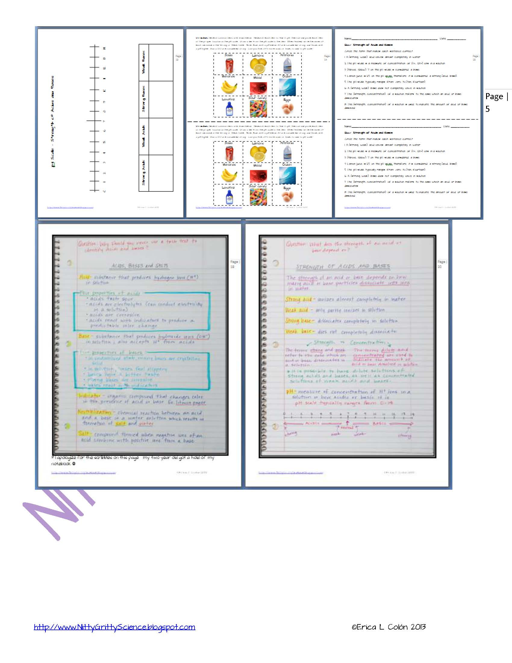 Solutions Acids and Bases Worksheet solutions Acids and Bases