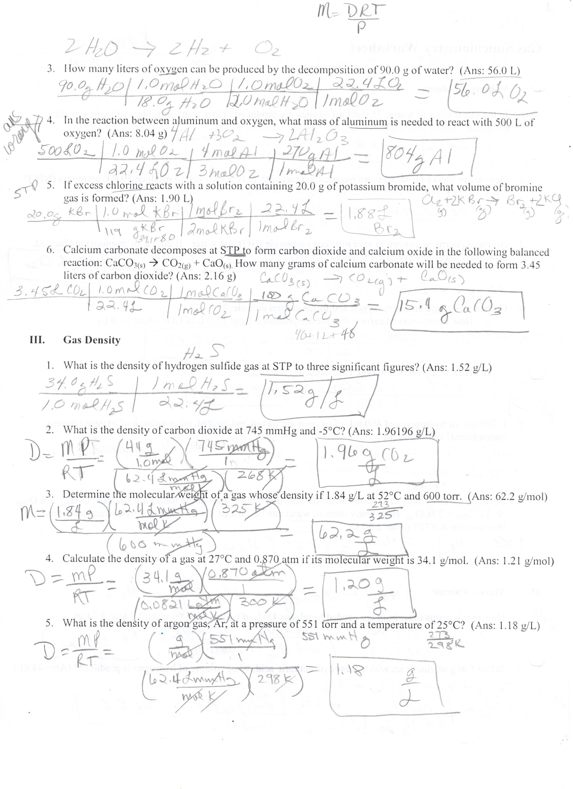 Solutions Acids and Bases Worksheet Unit 4 solutions