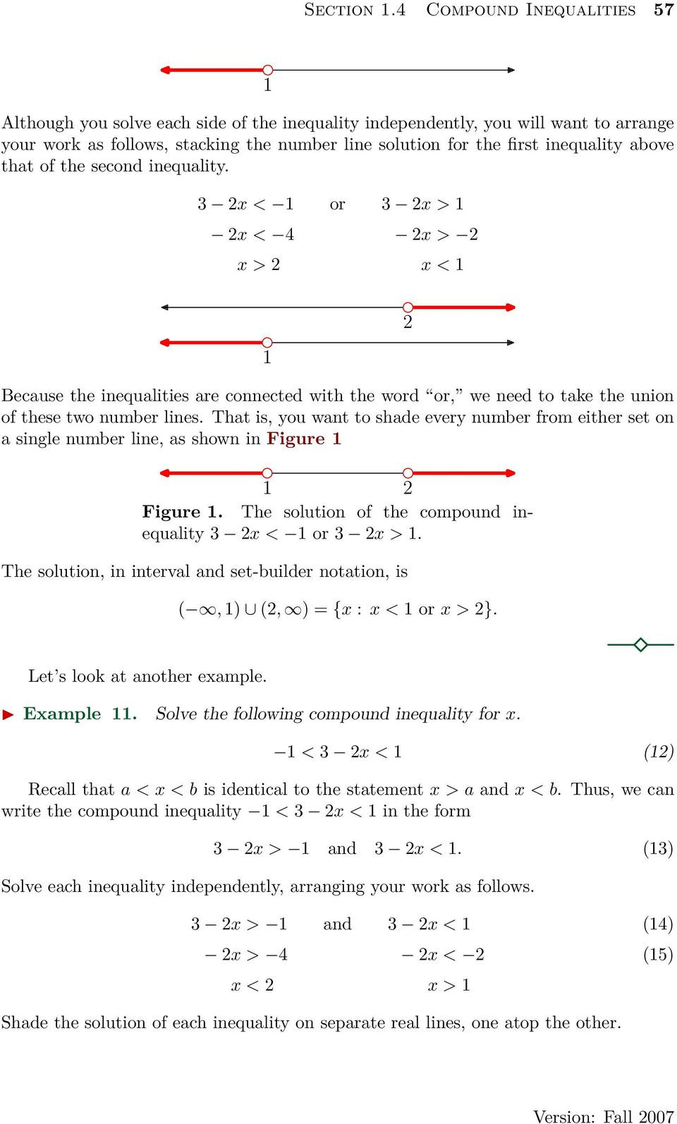 Solving Compound Inequalities Worksheet solving Pound Inequalities Worksheet Answers