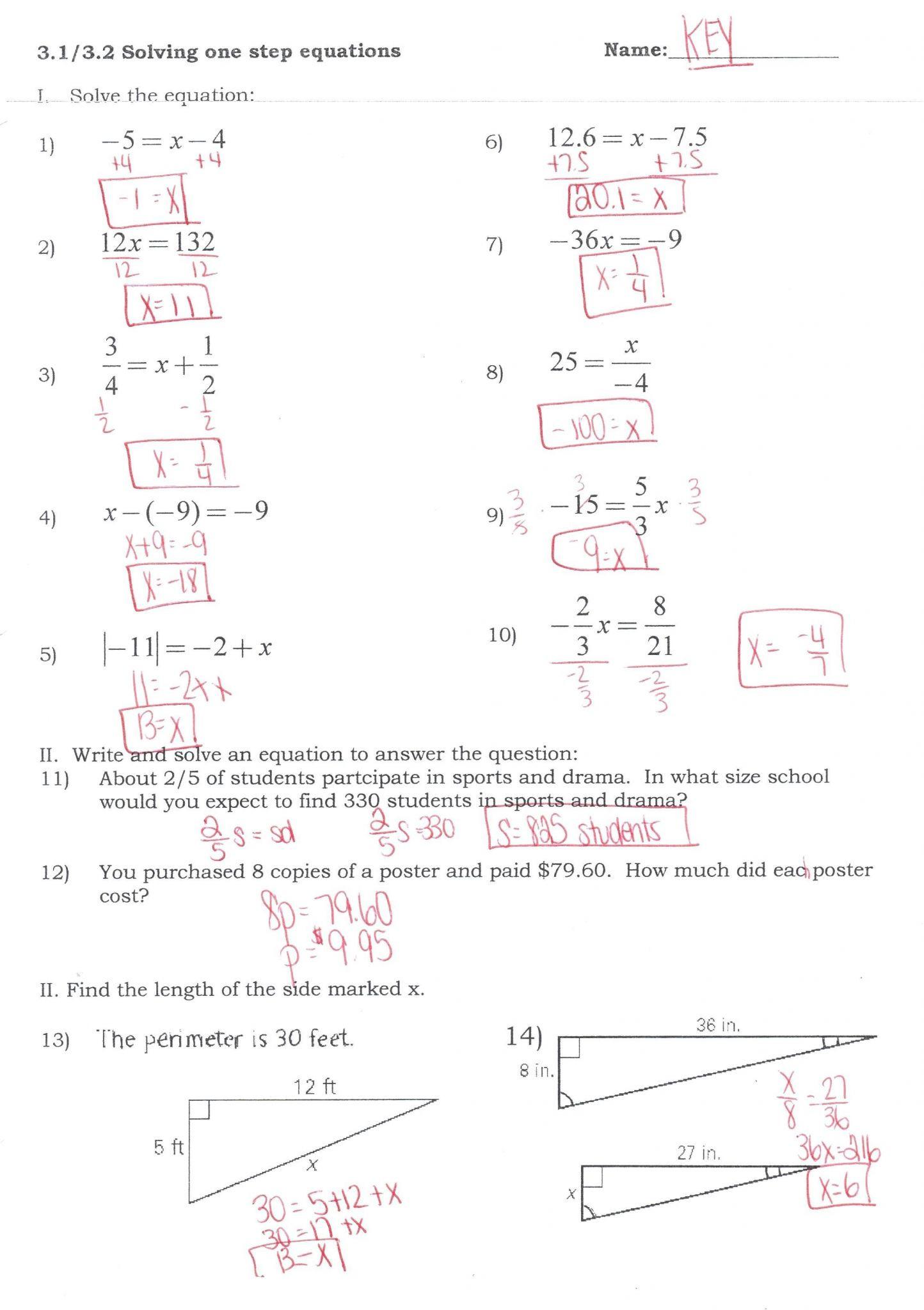 Solving System by Elimination Worksheet Worksheets solving System Equations Help by