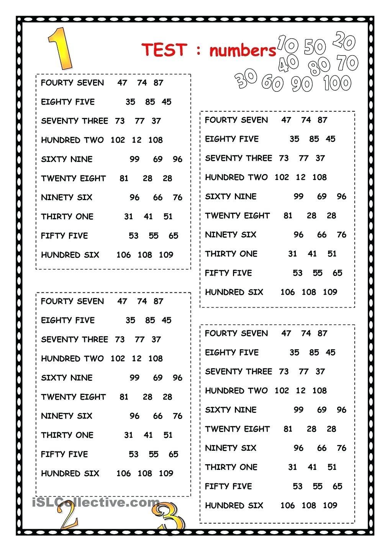 Spanish Numbers Worksheet 1 100 Spanish Number Worksheet Numbers Worksheet 1 5 M Numbers