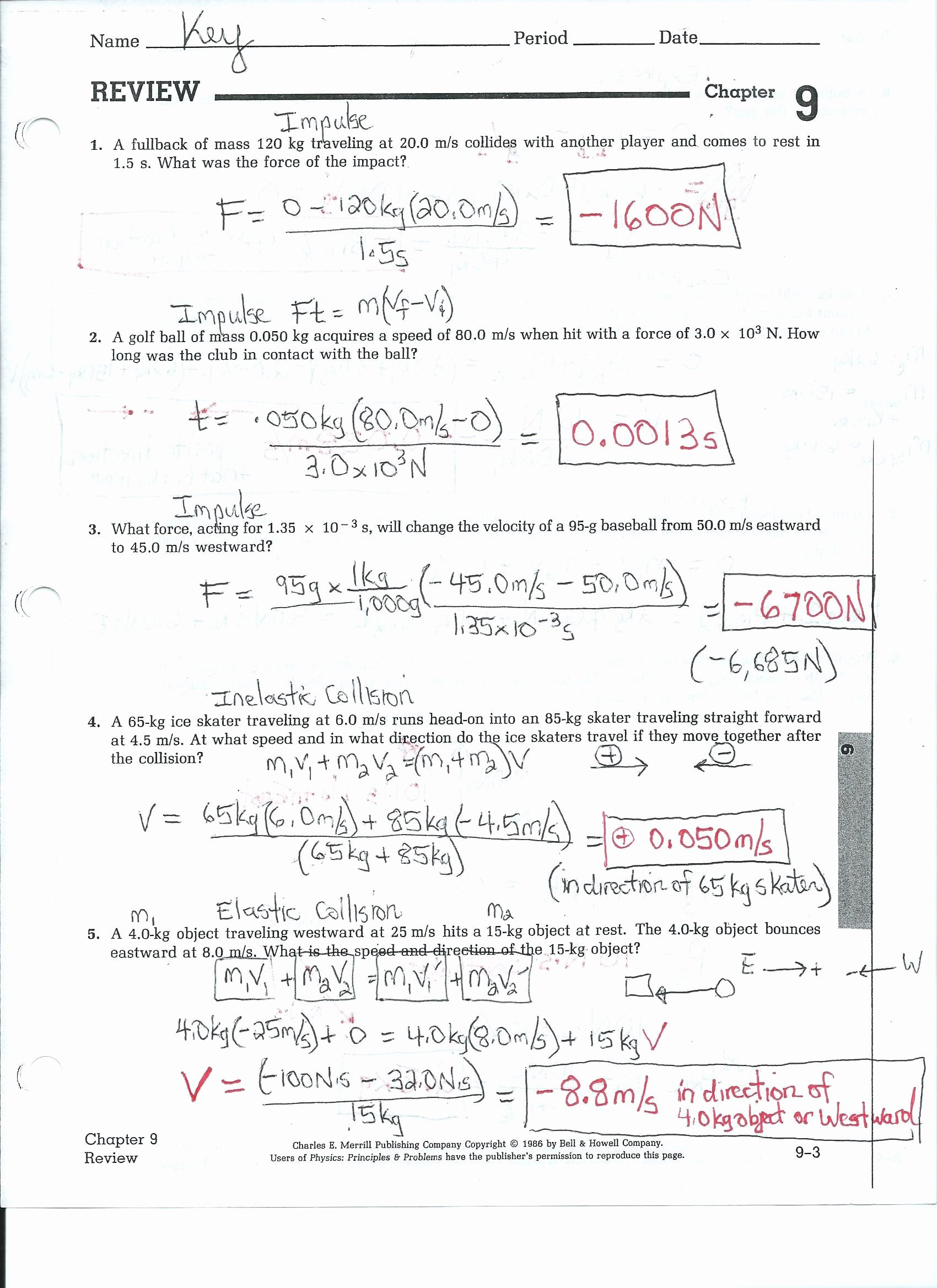Speed Practice Problems Worksheet Velocity and Acceleration Practice Problems Worksheet