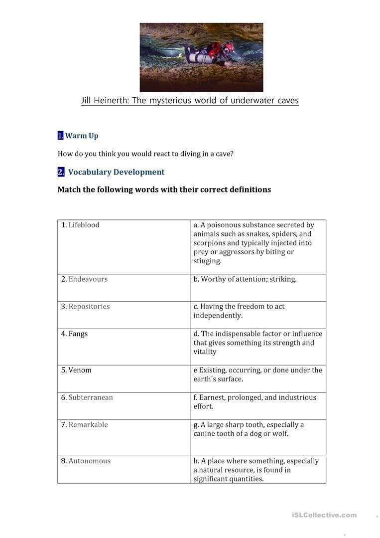 Static Electricity Worksheet Answers Planet Earth Caves Worksheet Answers Cave Diving Ted Talk