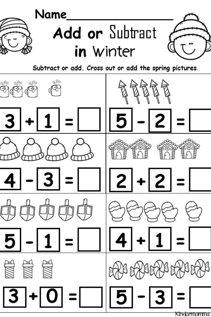 Subtraction Worksheet for Kindergarten 20 Subtraction Worksheets for Kindergarten