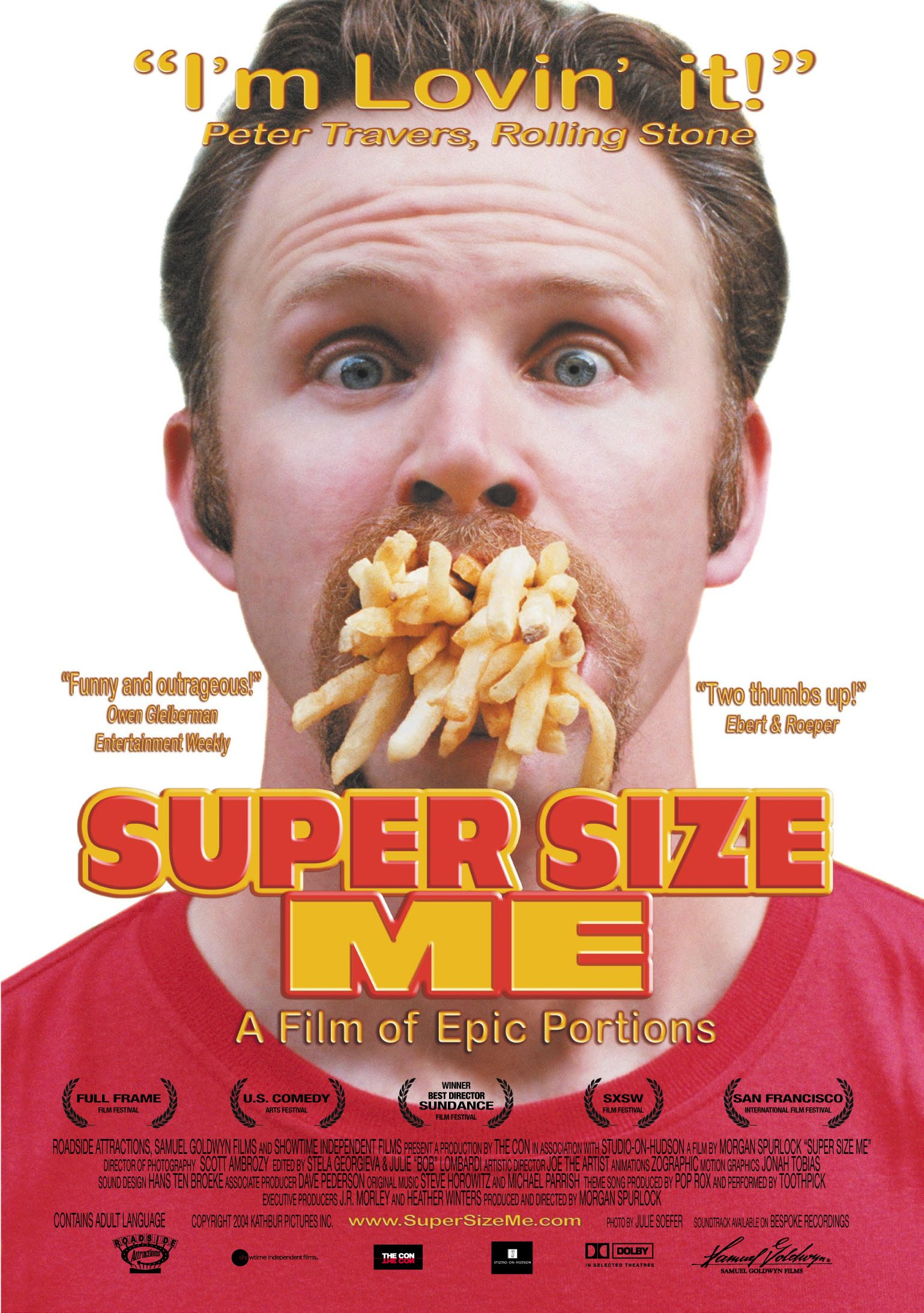 Super Size Me Video Worksheet Super Size Me 2004 Imdb