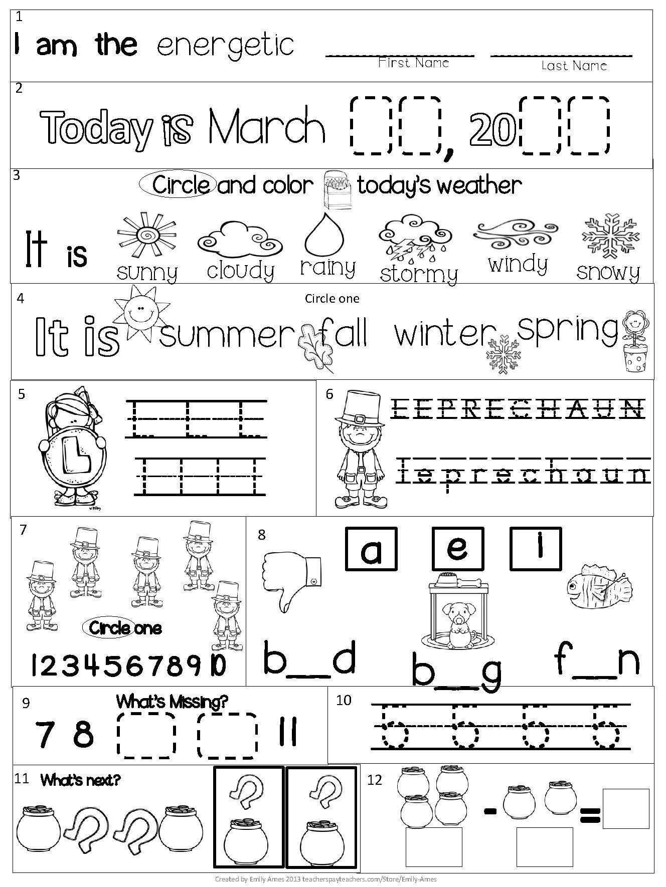 Syllables Worksheet for Kindergarten Pin On Examples Printable Kindergarten Worksheets
