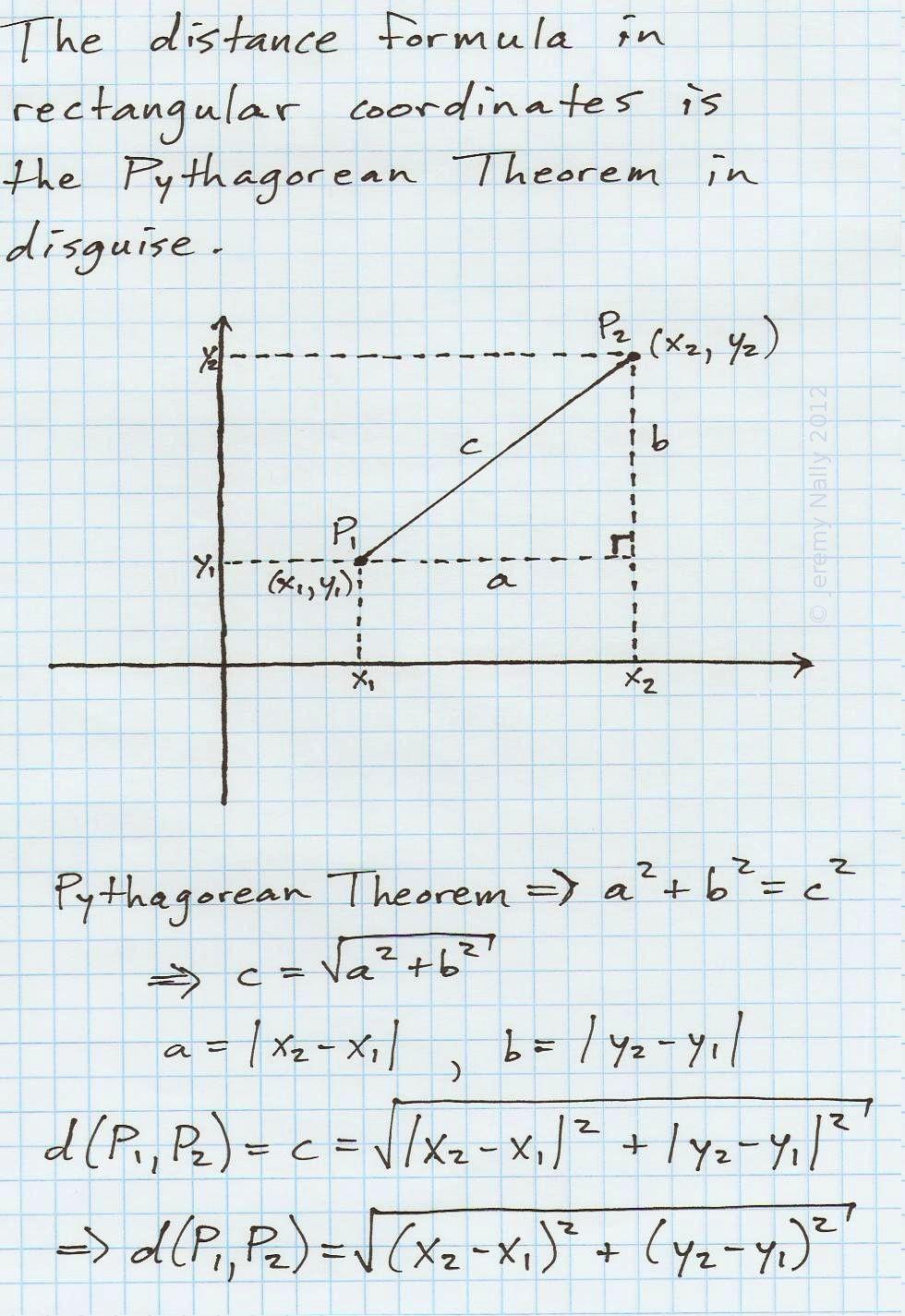 The Distance formula Worksheet Answers the Distance formula In Rectangular Cartesian Coordinates