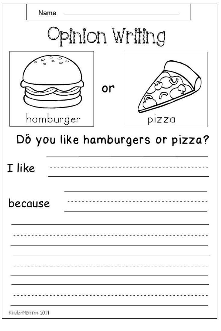 Third Grade Writing Worksheet Worksheet Free Opinion Writing Worksheetirst Grade