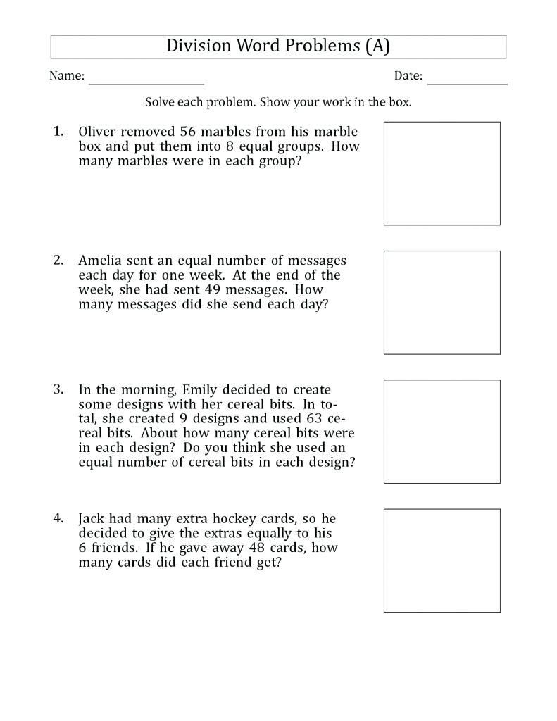 Trig Word Problems Worksheet 4th Grade Math Word Problems