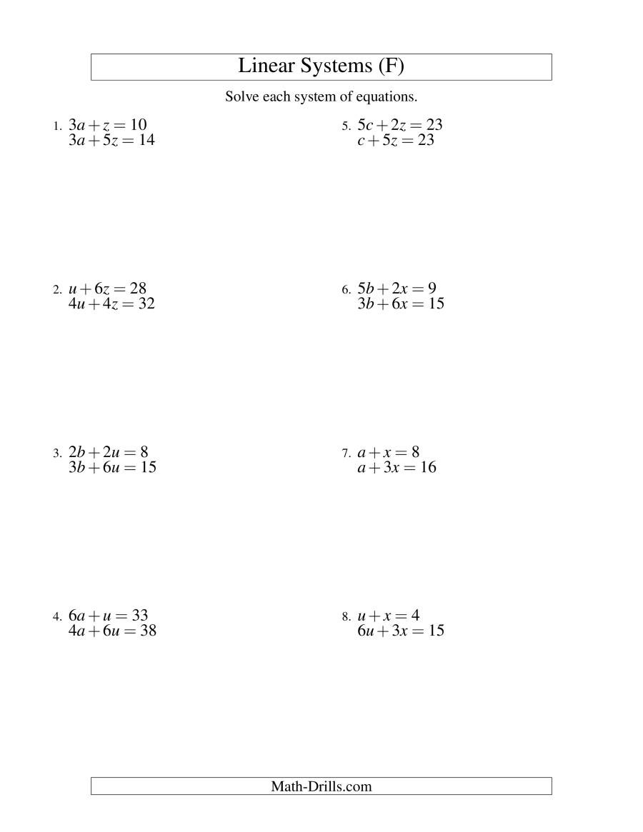 Two Step Equations Worksheet 100 [ Graphing Inequalities Worksheets ]