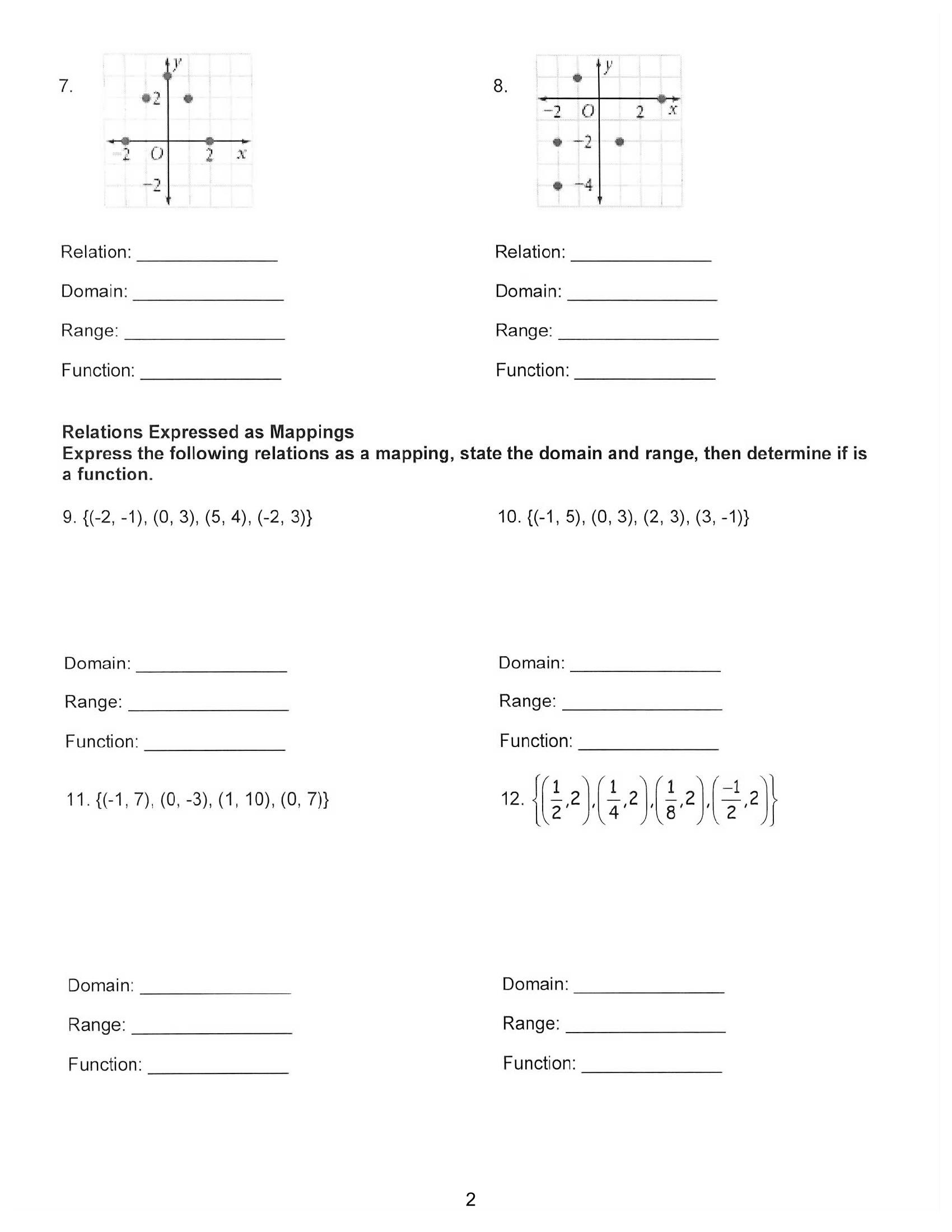 Two Way Frequency Table Worksheet Frequency Table Worksheet Intervals