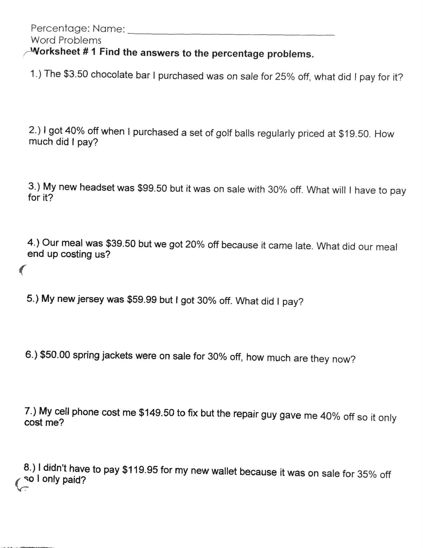 Unit Rate Word Problems Worksheet Unit Cost Worksheet