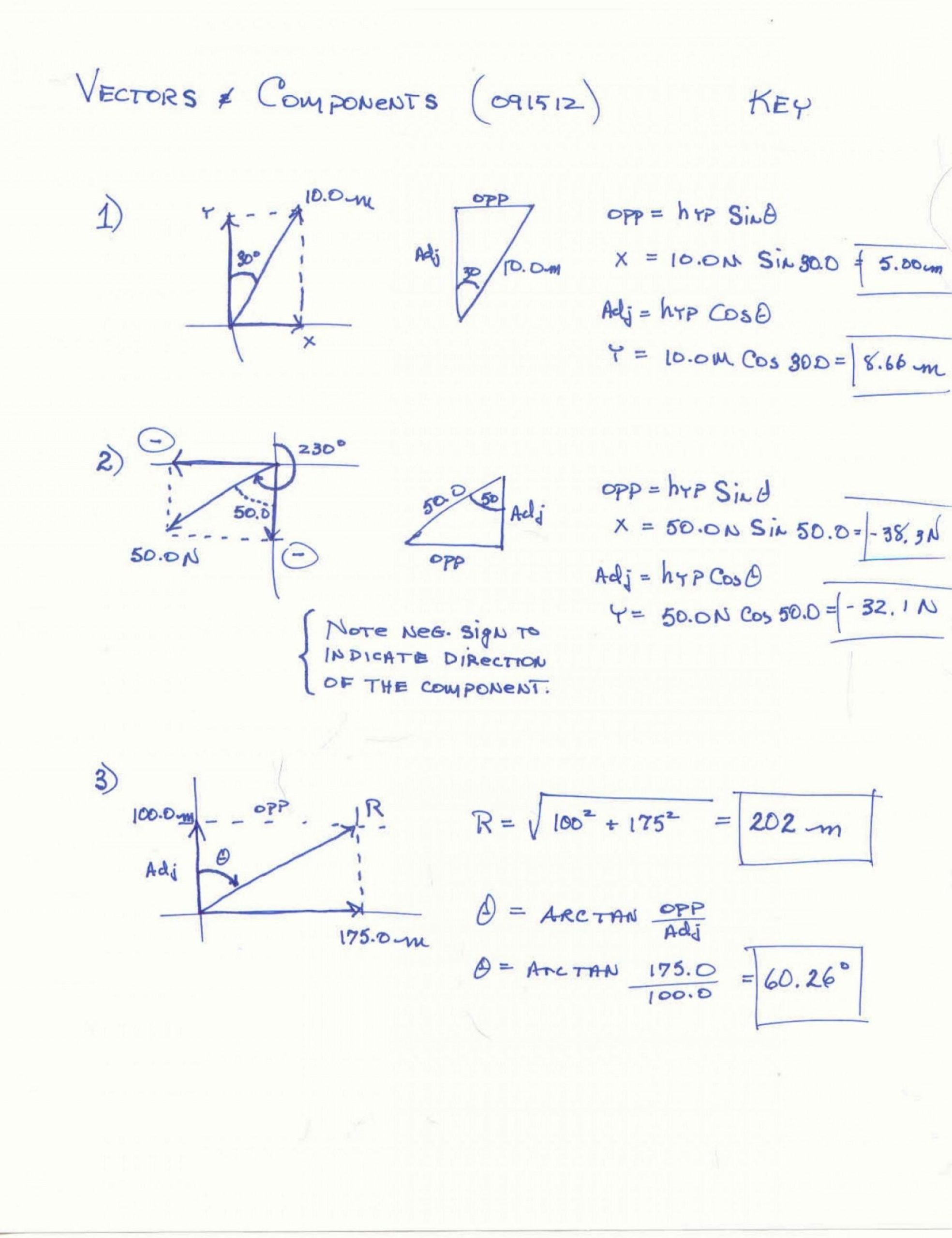 vector addition worksheet ahs vectors and trig worksheets pre calc with answers scaled