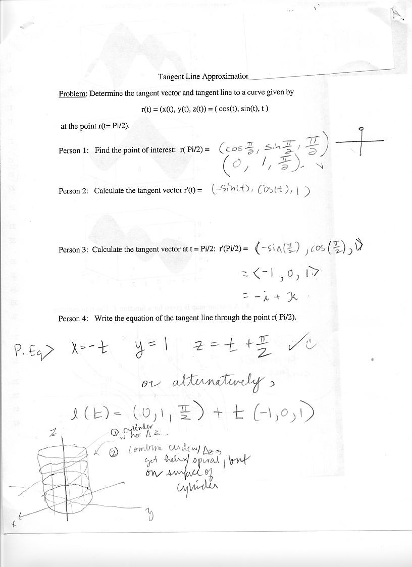 Vectors Worksheet with Answers Wk1 Tues9 4