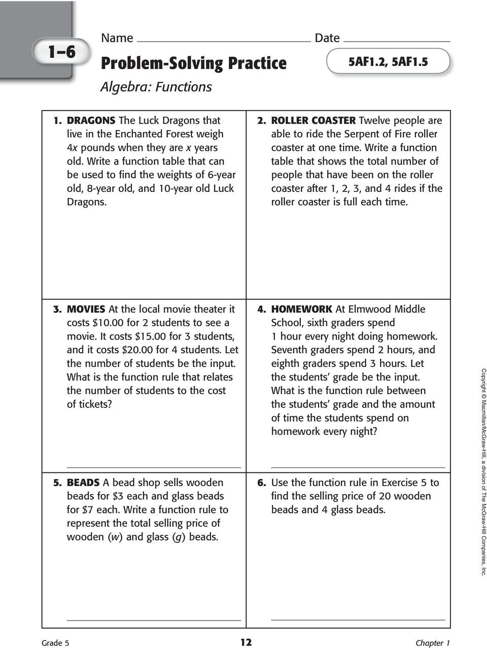 Writing Two Step Equations Worksheet Lesson 3 Problem solving Practice Write Two Step Equations