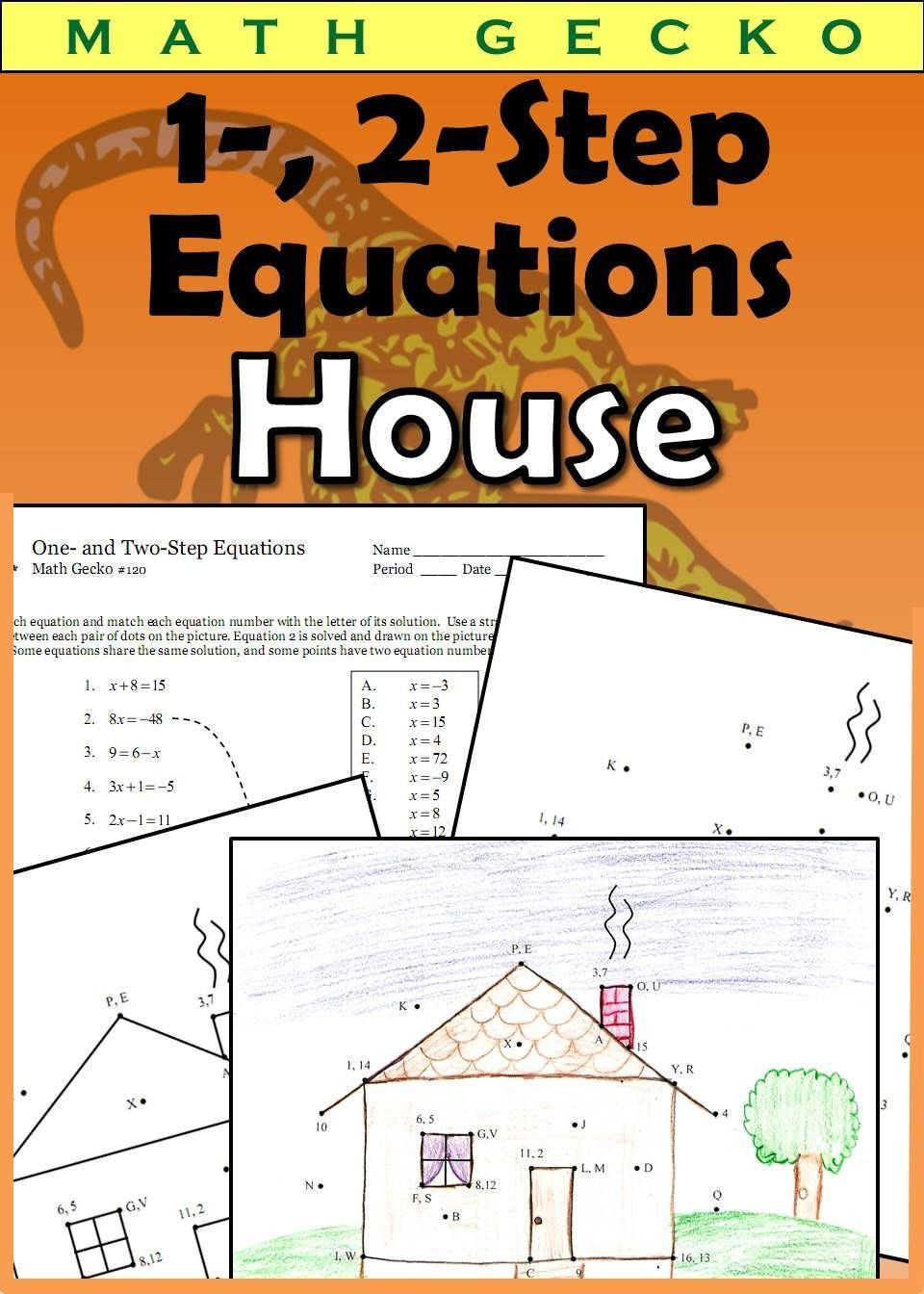 Writing Two Step Equations Worksheet Pin On Printable Blank Worksheet Template
