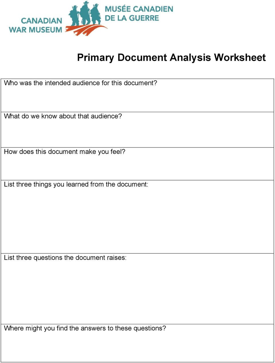 Written Document Analysis Worksheet Answers Paring Primary and Secondary sources Lesson Plan Pdf