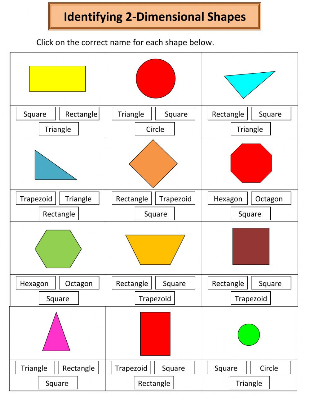 Naming 2 Dimensional Shapes md qj
